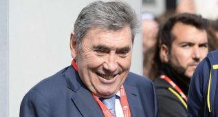 Eddy Merckx hospitalizado por problemas cardiacos