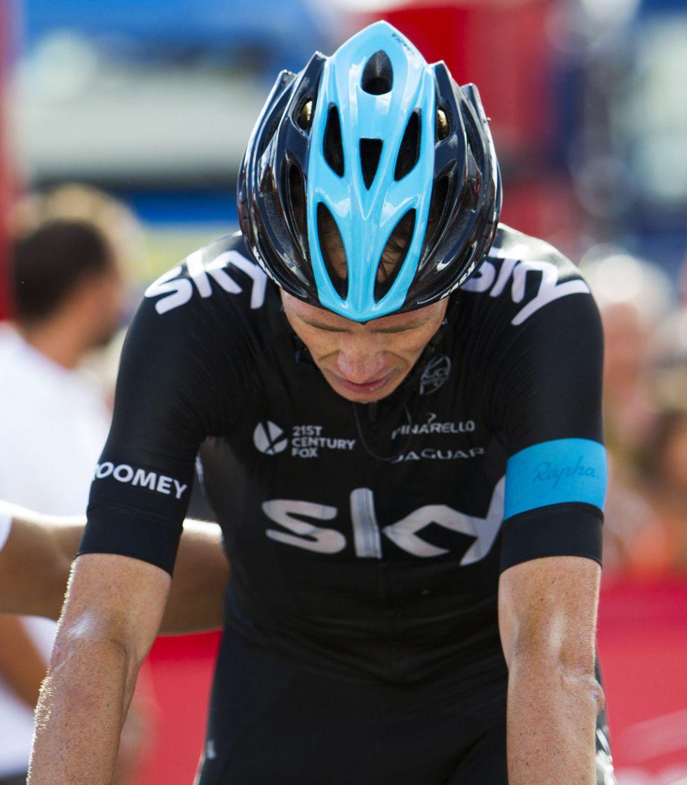 """Froome: """"A día de hoy Alberto Contador es el mejor"""""""
