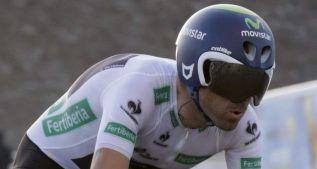 """Valverde: """"Estoy muy orgulloso de mi sexto podio en la Vuelta"""""""