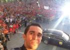"""Contador, aclamado en Pinto: """"Vosotros me habéis motivado"""""""