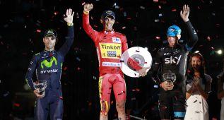 La Vuelta España 2014 le ganó en las audiencias al Tour 2014
