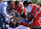 La holandesa Anna van der Breggen se fractura la pelvis