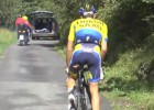 Alberto Contador da su nombre a una recta del Mortirolo