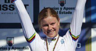 La danesa Dideriksen revalida el oro en la prueba junior
