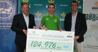 Caja Rural recaudó 125.000 kilos de alimentos durante la Vuelta