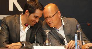 """Riis: """"Contador puede subir al podio en las tres grandes"""""""
