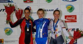 Tania Calvo, una esperanzadora plata delante de la oro olímpica