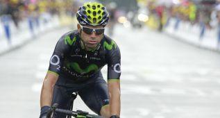 """Valverde: """"Es un Tour bonito para mí, con poca contrarreloj"""""""