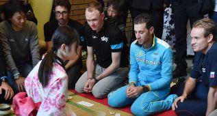 Nibali y Froome, ante 250.000 espectadores en Saitama