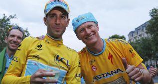 El Astana será del World Tour pese a cinco positivos y Padua
