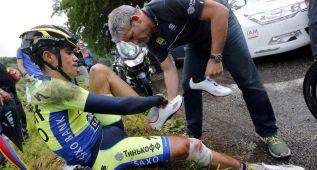 """Contador: """"Podría haber muerto en la caída del Tour de Francia"""""""