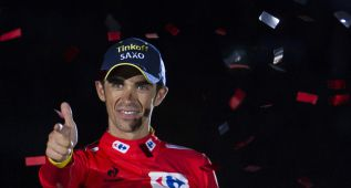 """Tinkov a Contador: """"En 2015 podría ganar las tres grandes"""""""