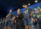El Movistar arranca en el año del despegue de Nairo Quintana