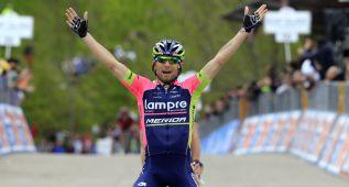 El italiano Ulissi, sancionado nueve meses por dopaje