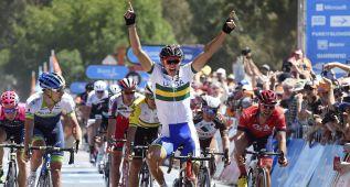 Von Hoff gana la cuarta etapa y Dennis continúa líder