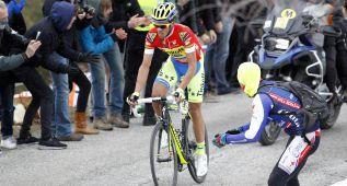 Alberto Contador somete a Froome con un ataque lejano