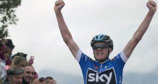 Chris Froome desbanca a Contador por sólo 2 segundos