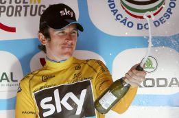 El británico Geraint Thomas gana la Vuelta al Algarve