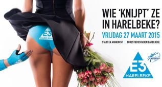 La clásica E3 Harelbeke crea una fuerte polémica por su cartel