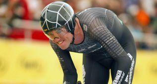 Thomas Dekker se queda a 270 metros del récord de la hora