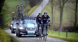 Las piedras marcan la despedida de Wiggins del ciclismo en ruta