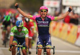Cimolai gana la quinta etapa y Kwiatkowski sigue al frente