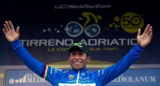 Quintana conquista por primera vez la Tirreno para Colombia