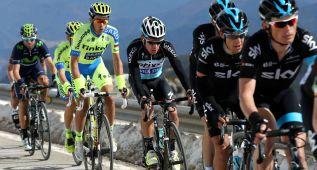 """Alberto Contador: """"La etapa ha sido durísima"""""""