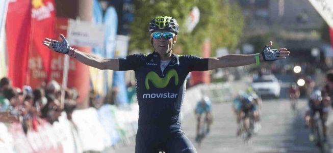 Valverde gana en Valls con un valiente ataque desde lejos