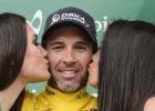 Albasini, etapa y liderato en la Vuelta a Romandía