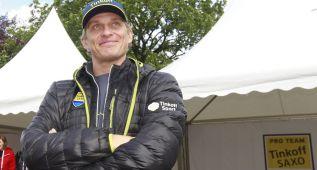 Oleg Tinkov dirigirá al equipo de Contador desde el coche