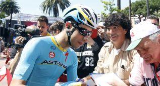 """Aru: """"He peleado con grandes como Contador o Richie Porte"""""""