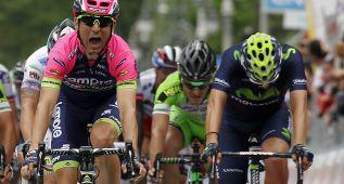Contador acaba sin sobresaltos y Ulissi bate a Lobato al sprint