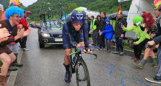 Amador, un 'tico' en el podio provisional del Giro