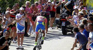 Contador ajusta cuentas con el Astana y mete 1:13 a Landa