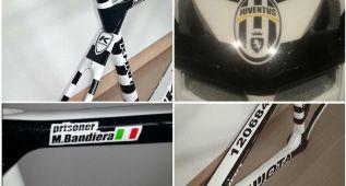 Bandiera quiere usar una bici de la Juventus en la última etapa