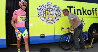 La UCI busca un motor eléctrico en la bici de Contador