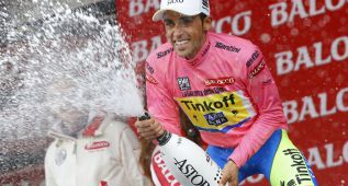 La 20ª etapa del Giro en imágenes