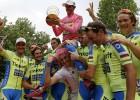 El Giro de Alberto Contador: el campeón del espectáculo