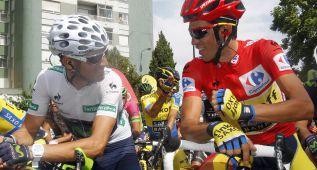 UCI: Valverde sigue líder de la lista mundial; Contador segundo