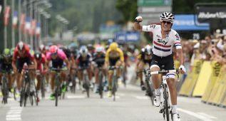 Kennaugh gana en solitario y es el primer líder del Dauphiné