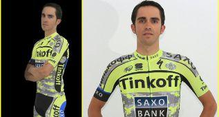 Contador exhibe su uniforme de guerrero para el Tour de Francia