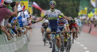 Matthews puede con Sagan antes de la alta montaña