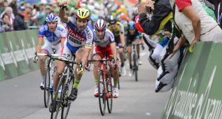 Sagan fue el más rápido en la sexta etapa; Pinot sigue líder