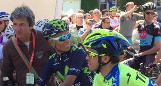 Contador y Nairo esperan a la montaña mientras Coquard gana