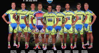 Alberto Contador acude al Tour con sus veteranos del Giro