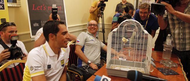 """Contador: """"Considero el reto Giro-Tour como una sola victoria"""""""