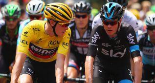 """Chris Froome: """"Teníamos que vigilar a Contador"""""""