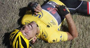 Fabian Cancellara abandona el Tour con dos vértebras fracturas