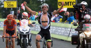 Víctor de la Parte gana la etapa en el Tour de Austria